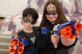 Kids Nerf Gun Parties